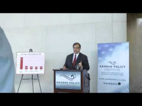 Kansans want lower taxes, less gov't spending - Poll Results Release