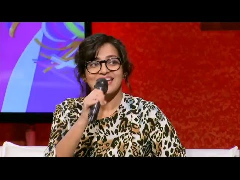 "Actress Parvathy singing ""Innum konjam neram"""