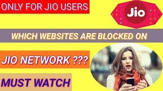 UNABLE TO OPEN SOME WEBSITES ON JIO NETWORK SOLVED( IN HINDI)