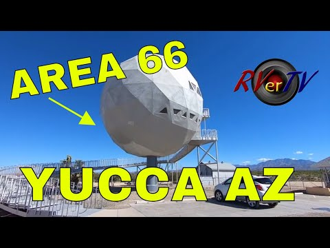AREA 66 - YUCCA ARIZONA Route 66... Geodesic Dome