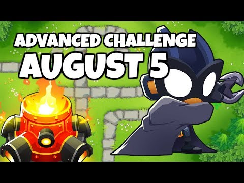 BTD6 Advanced Challenge (R100) - Blast From The Past - August 5, 2019