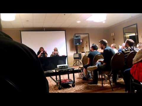Mink Stole Q&A at Cinema Wasteland, October 3, 2014