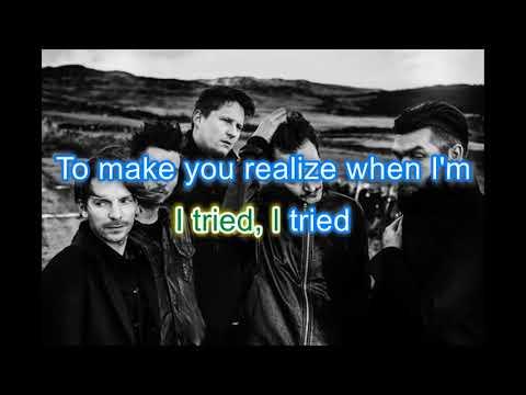 Karaoke - Sugar - Editors with Lyrics *