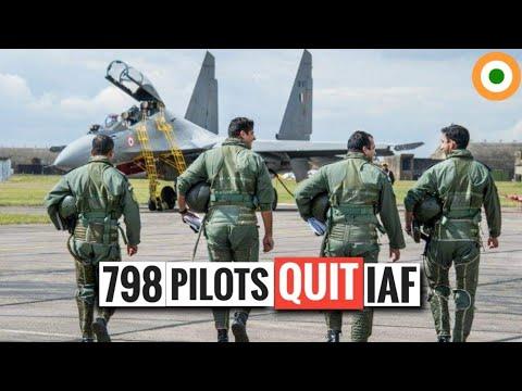 Why 798 Pilots Quit Indian Air Force? Indian Air Force Pilot Shortage - IAF Pilot Resign