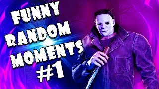 😆 Dead By Daylight FUNNY RANDOM MOMENTS MONTAGE 😆 СМЕШНЫЕ РАНДОМНЫЕ МОМЕНТЫ Dead By Daylight
