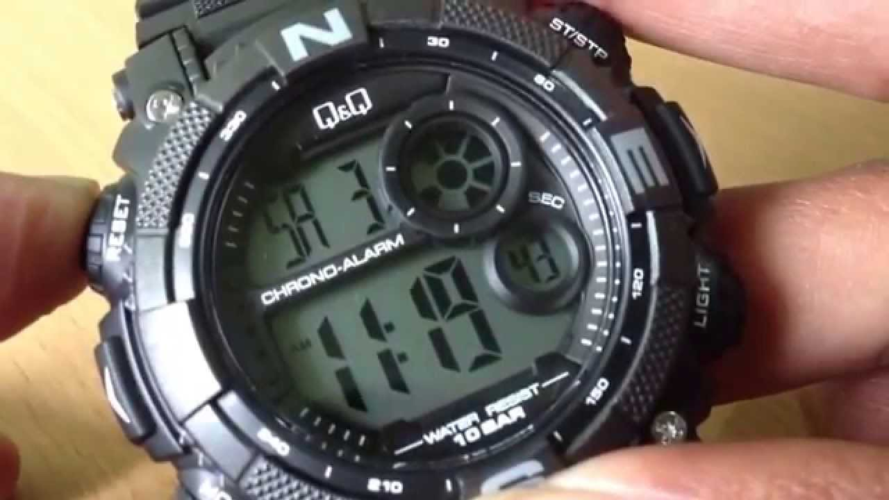 Review jam q q m133 original youtube for Q q watches