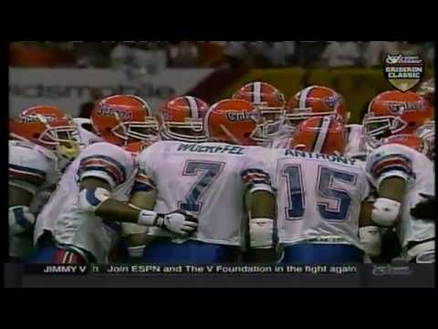 1996 National Championship (Sugar Bowl) - #3 Florida vs. #1 Florida State (HD)