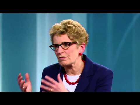 Kathleen Wynne on George Stroumboulopoulos Tonight: INTERVIEW