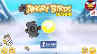 Angry Birds Seasons-Desafio do porco! Parte 1.