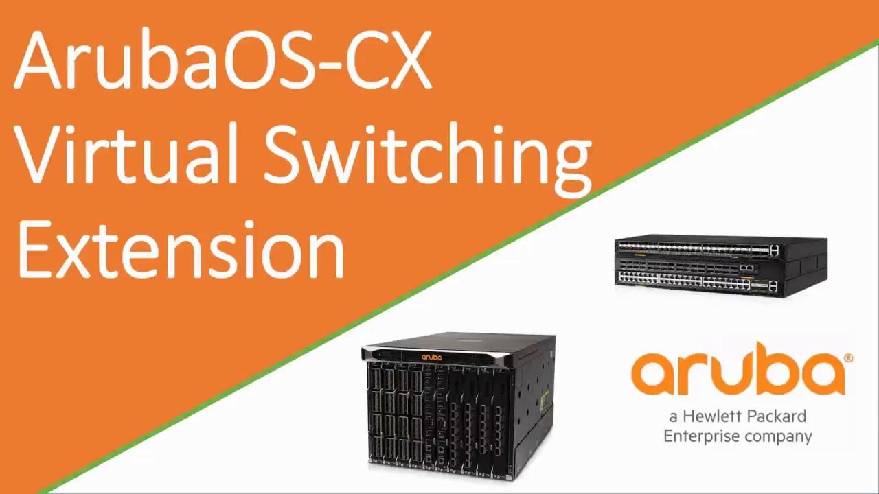 ArubaOS-CX Virtual Switching Extension