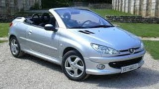 peugeot 206 cc cabriolet 16v org nl bj 2004 apk tot 28 8 2015 watch the video. Black Bedroom Furniture Sets. Home Design Ideas