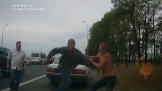 Аварии и ДТП 2015 Сентябрь. Дураки на дорогах / Car Crash Compilation September 2015. Fools on roads