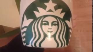 Обзор и Распаковка чашки Старбакс!!!