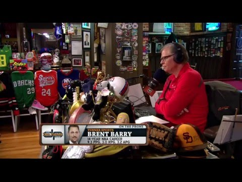 Brent Barry talk about his Dad, Rick Barry (4/25/16)