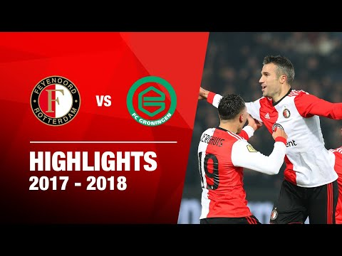 Samenvatting Feyenoord - FC Groningen 2017-2018