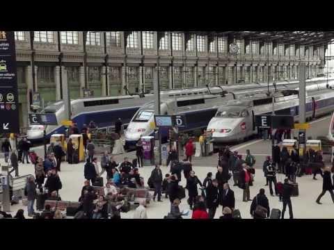 TGV High-Speed Rail Travel - France