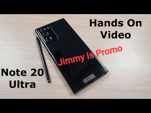 Samsung Galaxy Note 20 Ultra - Official Hands On (Leak)