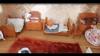Мебель для  Мишек Сильваниан -распаковка   Furniture Bruins Silvanian -raspakovka