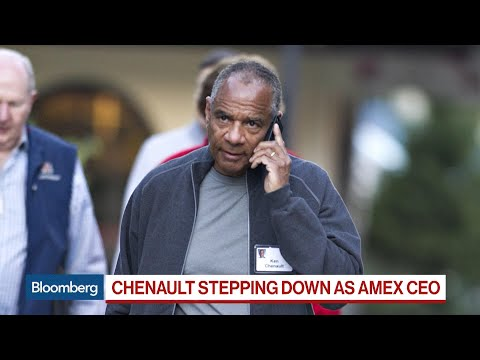 Chenault Stepping Down as CEO of American Express