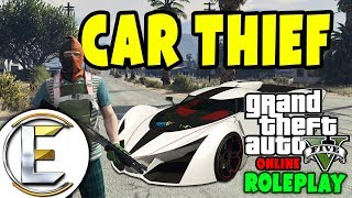 Car Thief (GTA RP) Try to Steal a $100,000 Car - Grand Theft Auto 5 Roleplay
