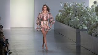 Taylor Hill, Alanna Arrington and more on the runway for the Zimmermann Fashion Show in New York Cit