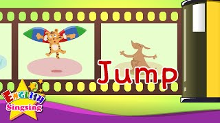 Easy Words 1 (Act Song) - Learn English vocabulary for kids - English song for Toddlers