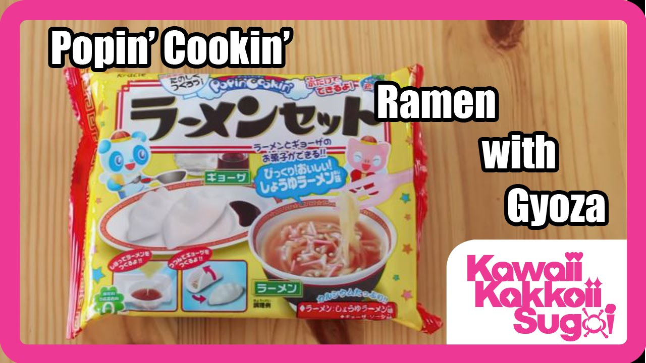Popin' Cookin' Ramen w/ Gyoza Instructions - YouTube