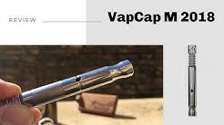 VapCap M 2018 Vaporizer + Degummed Hemp Fiber + Concentrates [ROME]