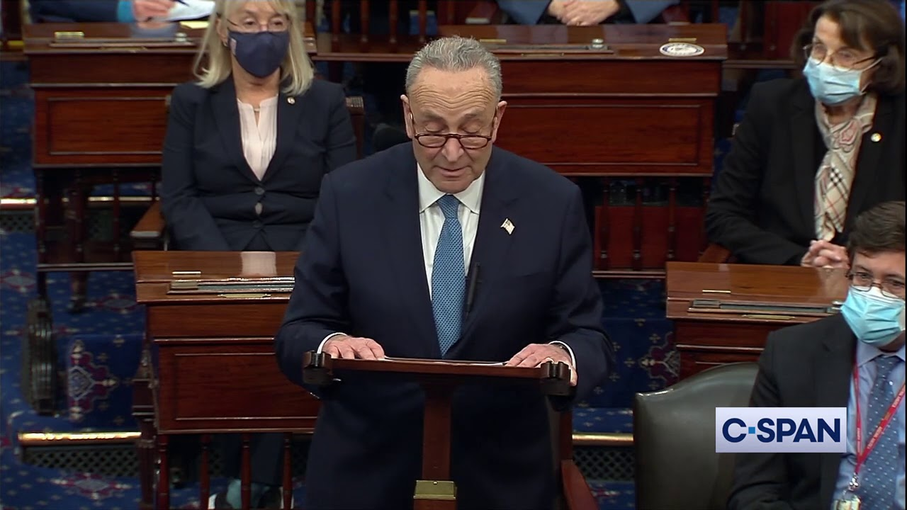 """Sen. Chuck Schumer: """"This will be a stain on our country not so easily washed away."""""""