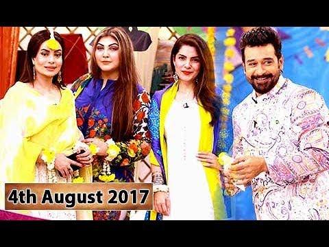 Salam Zindagi With Faysal Qureshi Guest: Sadia Imam & KiranKhan - 4th August 2017