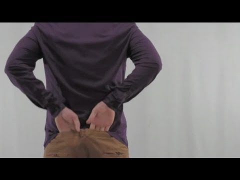 Tucking a Dress Shirt Into Khakis : Shirt Sleeves