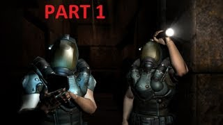 Doom 3 BFG Doom 3 Resurrection of Evil Walkthrough Part1  HD (No commentary)