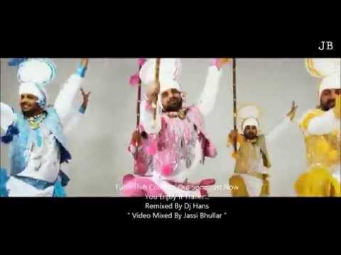Jatti Nachdi - K S Makhan [ FULL REMIXED BY DJ HANS ] Video Mixed By Jassi Bhullar