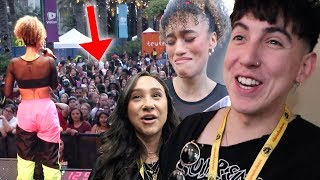Watching My BEST FRIEND's DREAM COME TRUE at VIDCON!! (emotional)