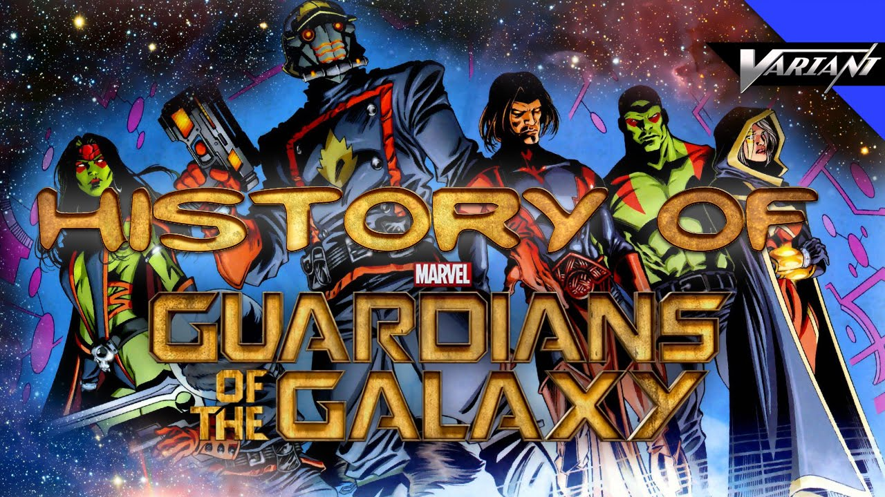 history of the guardians of the galaxy youtube