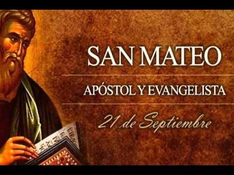 Resultado de imagen para santo 21 de septiembre