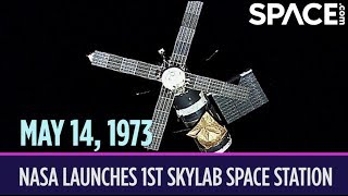 OTD in Space – May 14: NASA Launches 1st Skylab Space Station
