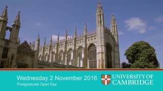 Save the Date - Postgraduate Open Day thumbnail