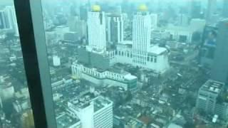 Стеклянный лифт, Baiyoke sky tower(http://pitertsev.com - здесь много чего еще есть! На таком стеклянном лифте можно спуститься со смотровой площадки..., 2012-02-02T21:34:25.000Z)