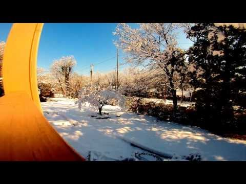 Snow Time-Lapse - A short Time-Lapse of some snow in Huntsville, AL