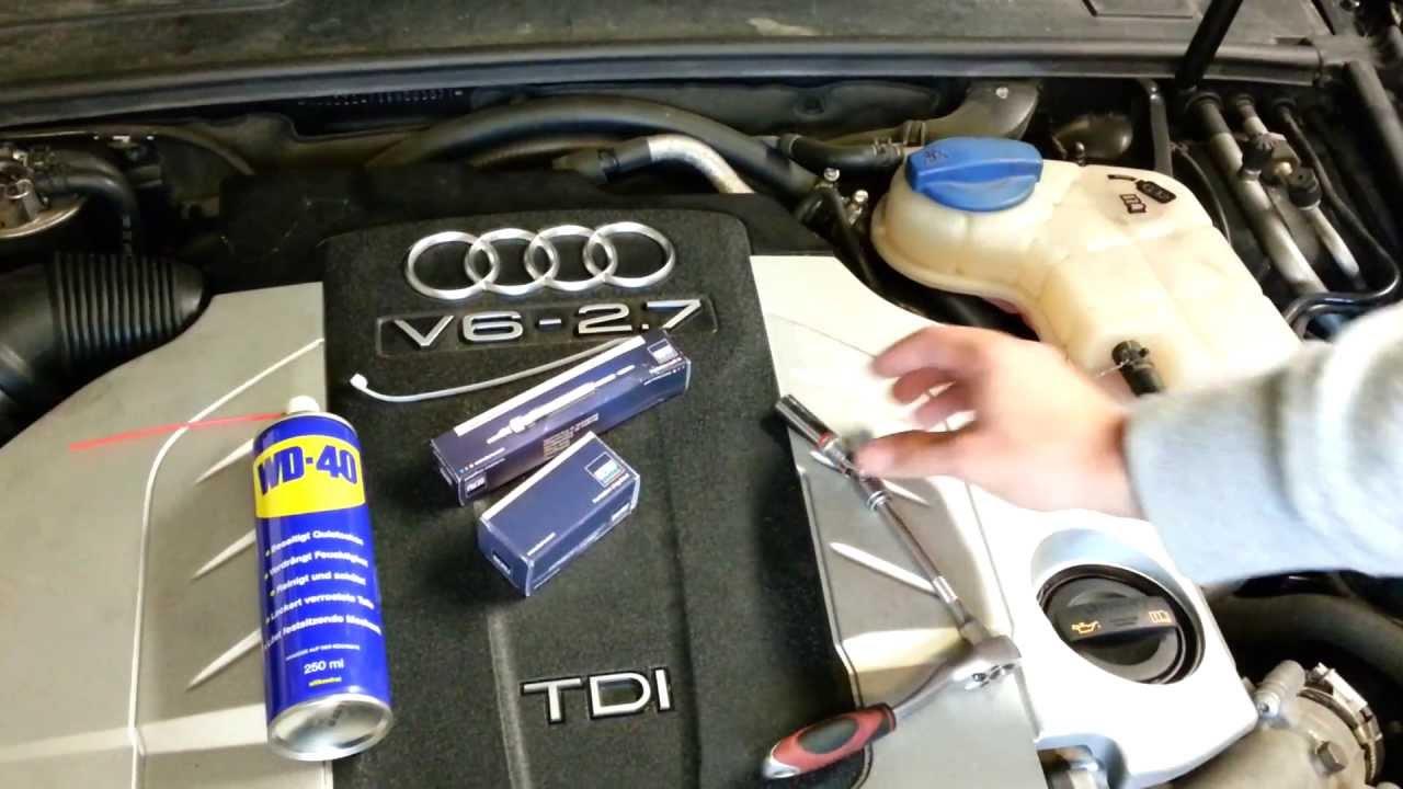 Gl 252 Hkerzenwechsel Audi A6 V6 Tdi Vw Skoda Seat Youtube