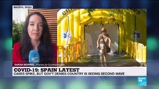 Spain infection rates: Madrid denies virus surge as case numbers creep up
