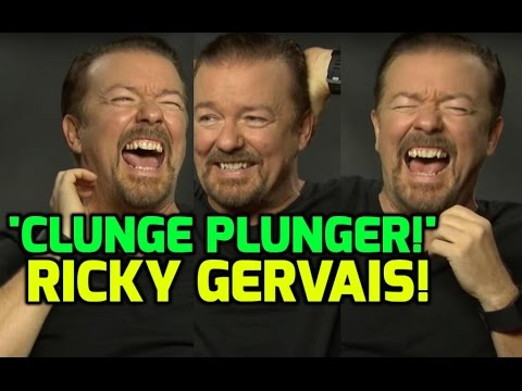 Ricky Gervais plays a game of guess the band name