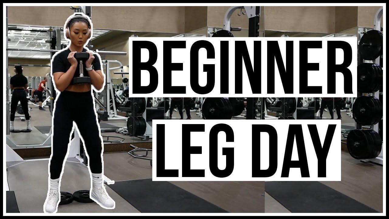 BEGINNER LEG WORKOUT | Using Basic Gym Equipment