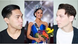 BOYFRIEND REACTS TO MISS UNIVERSE PHILIPPINES 2010 - 2016
