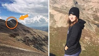 Girl Heard Rumor About Barking Dog On Mountain- Climbs Up And Makes Incredible Discovery