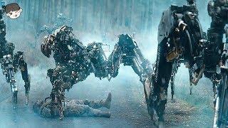 자아를 가진 로봇과 싸우게된 미해병대 (긴장감 ㄷㄷ)