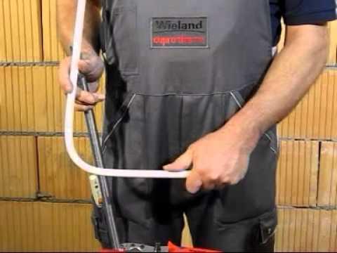 Bekannt Wie biege ich die flexiblen Kupferrohre cuprotherm CTX von Wieland YF28