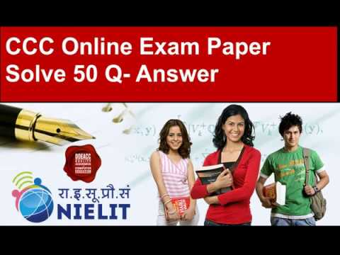 Exam paper for ccc question and answers, ccc question and answers.