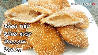 🇨🇦 Cách làm bánh tiêu rỗng ruột/Hollow donut [eng sub].